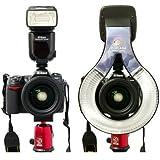 F170 Macro O Flash Ring For CANON 550EX 580EX/580EX II + 50D 40D 30D 20D 10D 5D 5D II 7D.