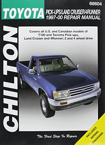 Chilton's Toyota Pick-Ups/Land Cruiser/4 Runner 1997-00 Repair Manual