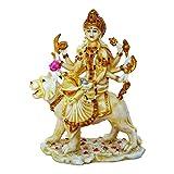 Marble Look Hindu Goddess Durga Devi Han...