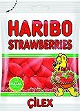 Haribo 10 x 80g Strawberries Erdbeeren Helal Gummibärchen Fruchtgummi Weingummi Süßigkeiten Süsswaren 80 GR Verpackung Halal haribo