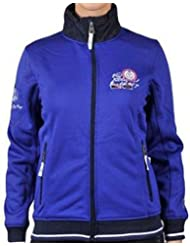 Vent du cap-chaqueta-sweat mujer ACELO- azul