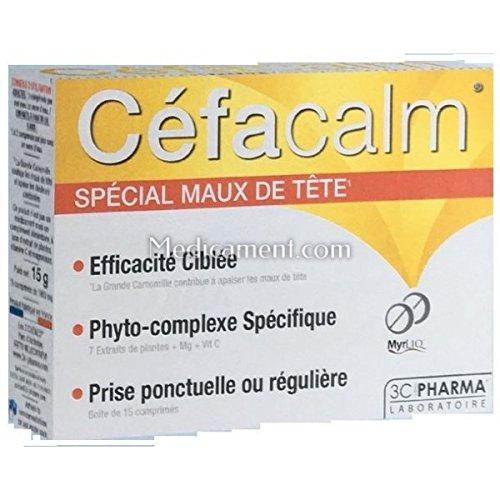 3C Pharma Céfacalm 15compresse