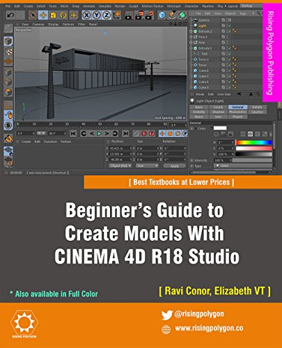 Beginner's Guide to Create Models With CINEMA 4D R18 Studio (English Edition)
