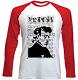 Photo de teesquare1st Men's Frederic Chopin Composer Red Long Sleeved T-Shirt Size par teesquare1st