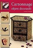 Cartonnage objets décoratifs