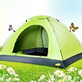 TQWMU Picnic Camping Tent Portable Waterproof Tent Outdoor and Camping Tent (For 4-5 Person)
