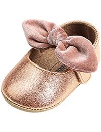PAOLIAN Verano Zapatos para Bebé Niñas Zapatos de Primeros Pasos Antideslizante Breathable Suela Blanda Princesa Calzado
