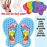 #4: PERFECT SHOPO Hot Futzuki Reflexology Foot Relief Mat Pain Relieving Over 2800 Massaging Point
