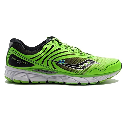 Saucony Running Break Thru 2 Slime / Black 41