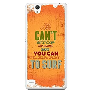 a AND b Designer Printed Mobile Back Cover / Back Case For Sony Xperia C4 (SONY_C4_1885)
