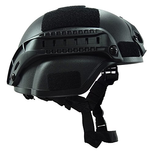Outdoor anti-fire War Games moto semplificato azione militare combattimento tattico MICH2000casco nero