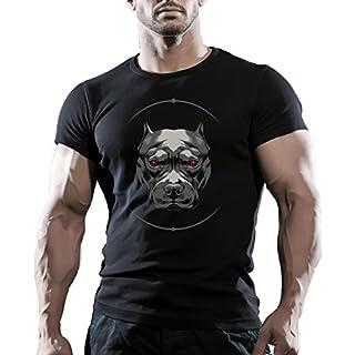 Arubas-uk Herren T-Shirt Gr. L, Schwarz