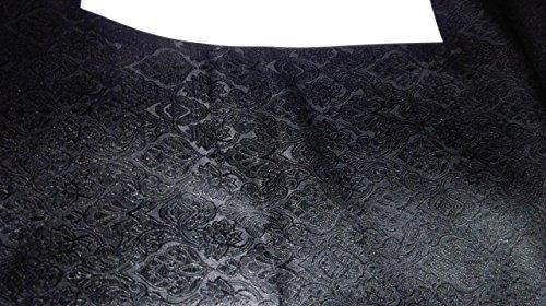 TheFabricFactory Brokat Stoff schwarz Farbe 111,8cm bro576[3]