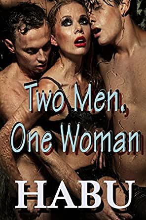 Two bisexual men with lady photos