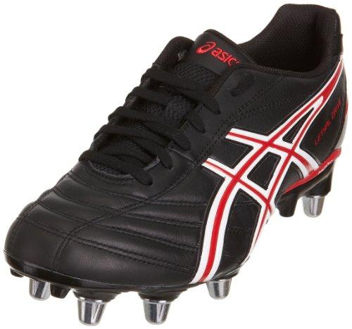 Letales Botas Asics Blanco Negro Unidad De Rojo Negro Los Rugby Hombres De R4q4Wnd