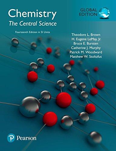 Chemistry: The Central Science in SI Units por Theodore E. Brown