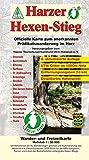 Harzer Hexen-Stieg: Offizielle Karte zum anerkannten Prädikatswanderweg im Harz