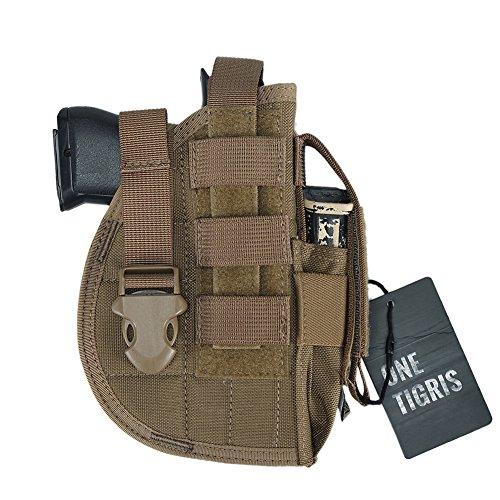 OneTigris – Funda de pistola táctica para Molle y Glock191145