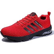 PAMRAY Scarpe Ginnastica Uomo Donna Running Sneakers da Corsa Air Cushion 3cm Fitness Basse 36-