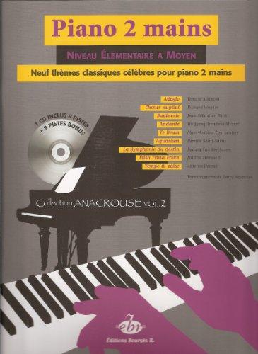 9 THèMES CLASSIQUES CELèBRES POUR PIANO VOL  2   PIANO   BOOK+CD