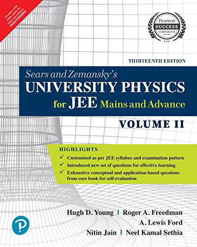 University Physics for JEE Mains and Advance | Vol 2 | By Pearson