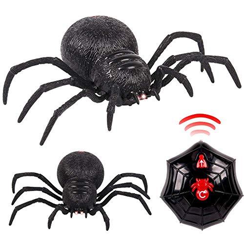 (TINGSU Spielzeug, ferngesteuert, Spider Gruselige Wolf Spider Roboter, realistische Neuheit Streichspielzeug, Geschenke)