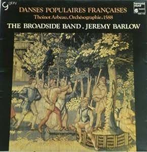 DANSES POPULAIRES FRANCAISES LP (VINYL ALBUM) FRENCH HARMONIA MUNDI 1984