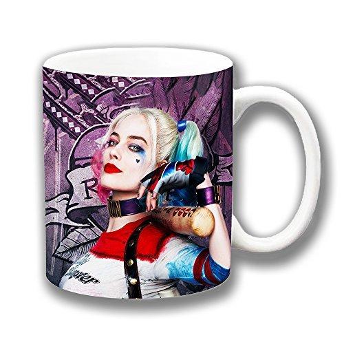 Suicide Squad Harley Quinn Keramik Kaffee Tasse Weihnachten Geschenk Strumpffüller