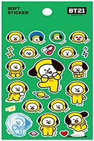 BT21 X STUDIO8 BTS Official Merchandise Soft Sticker, by Bangtanboys