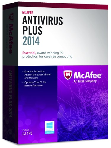 Mcafee Antivirus Plus 2014 - Subscription Package - 1 Pc - Standard - 1 Year - Pc - Retail - English