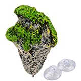 Saim flotante artificial Piedra Roca para acuario Decoración Fish Tank ornamento
