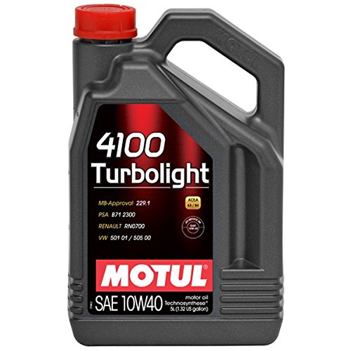Motul 1003574100Moteur Turbolight 10W-40, 5l pas cher
