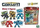 Gormiti 70015941 - Neorganic Figur 5er Blister 5cm