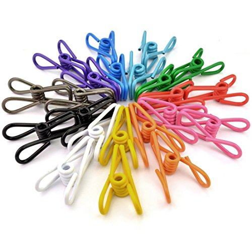 30pc-clothes-pegs-steel-wire-towel-clips-sumersha-multi-purpose-clothesline-clothespins-utility-clip