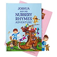 Personalised Nursery Rhymes and Poems Children's Book - A Beautiful 1st Birthday, Christening Gift