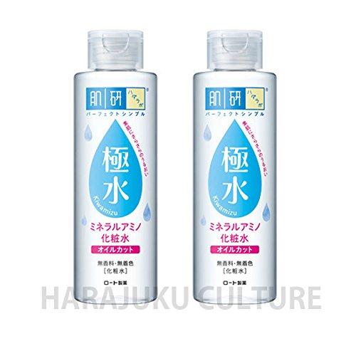 Rohto Hadalabo Kiwamizu Mneral Amino Skin Lotion - 180ml - 2pcs