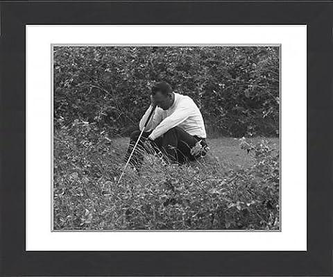 Framed Print of Golf - Practice Round - Billy Casper - Royal Birkdale Golf Club
