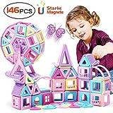 Innoo Tech Upgrade Magnetische Bausteine 146 Teiliger Bausatz Macarons als Geschenk für Kinder