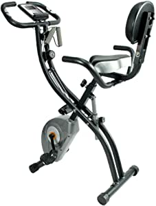 ATIVAFIT Indoor Cycling Bike Pieghevole Magnetico Verticale Bike Stationary Spin Bike Recumbent Cyclette