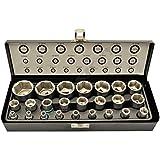 Pulgadas stecknüsse llaves tubulares (Juego de herramientas llave Nueces de 24piezas