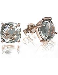 Goldmaid - Fa O5422RG - Boucles d'Oreille Femme - Or rose 375/1000 (9 Cts) 1.8 Gr - Améthyste