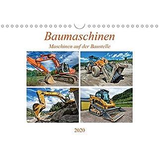 Baumaschinen - Maschinen auf der Baustelle (Wandkalender 2020 DIN A4 quer)