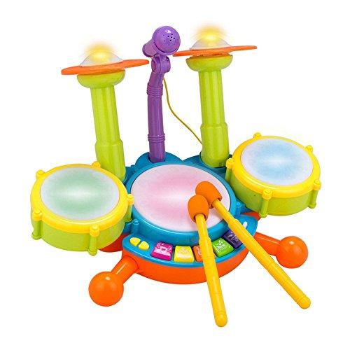 powerlead-bambini-drum-set-beats-giocattolo-chiaro-flash-con-microfono-regolabile