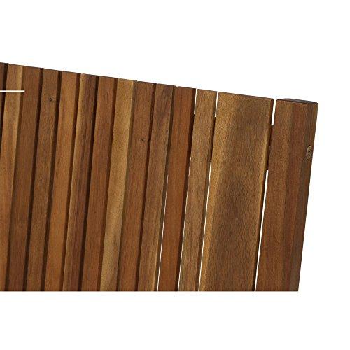 Siena Garden 2er Bank Falun, 59x122x90cm, Akazienholz, geölt in natur, FSC 100% - 7