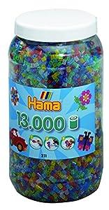 Hama - Abalorio de juguete (211-54) , Modelos/colores Surtidos, 1 Unidad