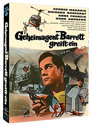 Geheimagent Barrett greift ein - Mediabook - Cover B - Phantastische Filmklassiker Ausgabe 4 [Blu-ray]