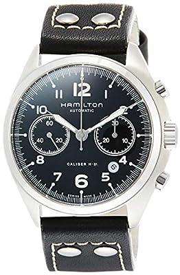 Hamilton Men's Khaki Aviation Pilot Pioneer Automatic Chronograph Watch H76416735
