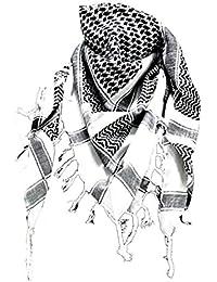 Palästinenser Tuch weiß schwarz