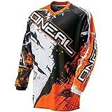 O'neal element mX pour enfant en jersey orange sHOCKER motocross enduro offroad, 0025S - 40
