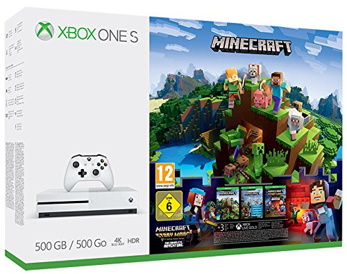 Foto Xbox One S 500 GB + Minecraft Story Mode + Live 3m [Bundle]